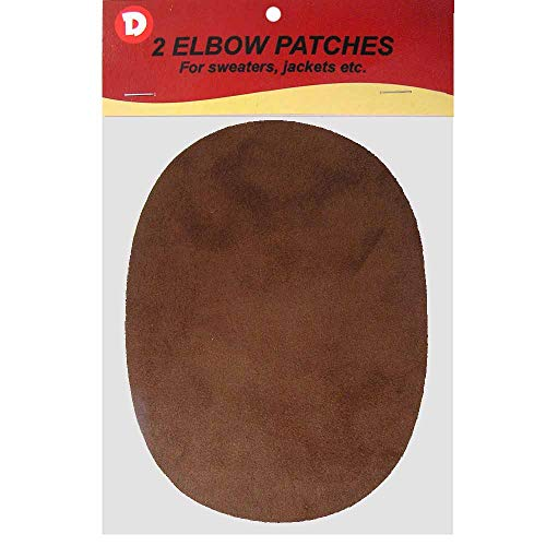 Faux - Suede Garment Iron-On Elbow Patches 4 1/2 x 5 1/2 in 2/Pkg -...