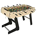 Timberlion 4ft Foldable Foosball Table Football Soccer Indoor Game Table...