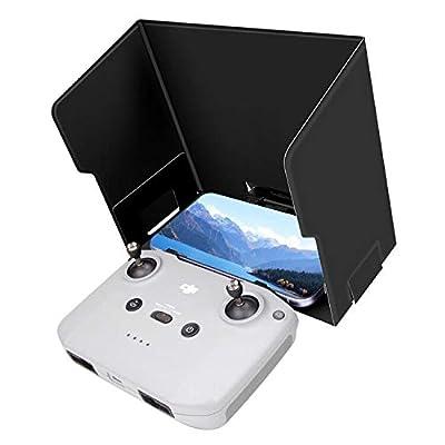 LYONGTECH 4.7-6.7 inch Phone Sun Hood Shade for DJI Mini 2/Mavic Air 2 Drone Remote Controller,Foldable RC Monitor Sunshade Accessories