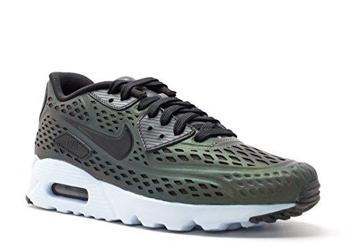 Nike Herren Air Max 90 Ultra Moire QS Laufschuhe, Grau Weiß Schwarz Tief Zinn Schwarz Schweinswal, 42.5 EU