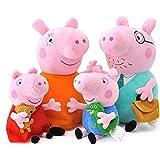 Pack 4 Pig Plushies Peppa - Pig Plush Peppa - Pig...