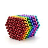 Bloques de construcción de partículas de inserción magnética, Rompecabezas de Escritorio para Adultos y Juguete de descompresión, Color 448 Piezas
