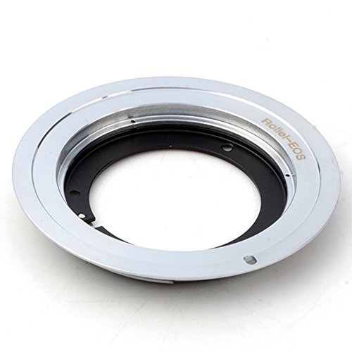 Hoogwaardig product. Pixco Adapter Pak voor Rollei QBM Lens naar Canon (D) SLR 4000D 2000D 6D II 200D 77D 5D IV 1300D 80D 1DX II 5DS R 760D Camera Flange Adapter