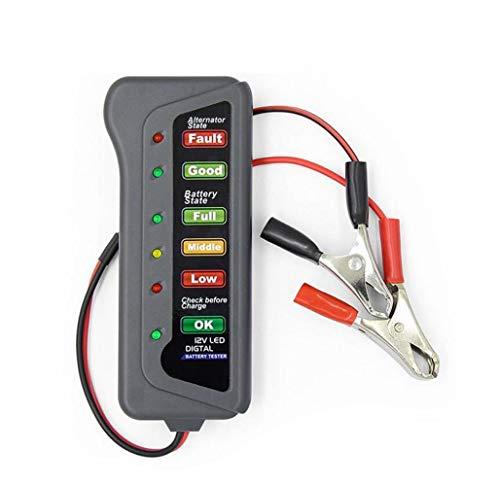 Amazing Deal Car-Battery-Tester Test-Check Motorcycle ALTERNATOR Starting 12V 6 LED and Trucks Charg...