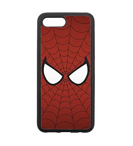 Schutzhülle für Honor 10, Spiderman Augen, Spiderman Eyes, Spiderman-Stoff, Schwarz