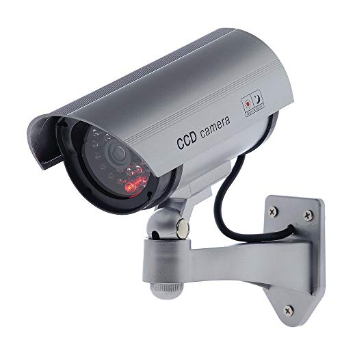 Check Out This Simulated Security Camera with Blinking Light 8 x 3 x 6 (W x D x H)