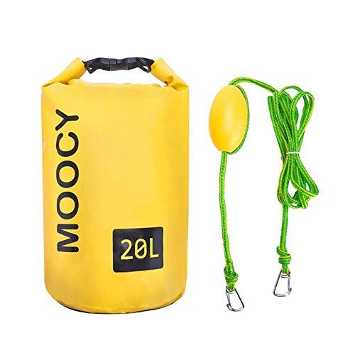 Ancla de bolsa de arena 2 en 1, ancla de tabla de remo SUP, bolsa seca de cuerda de remolque de ancla de arena para kayak, para botes pequeños, embarcaciones a motor, canoas, motos de agua, kayak