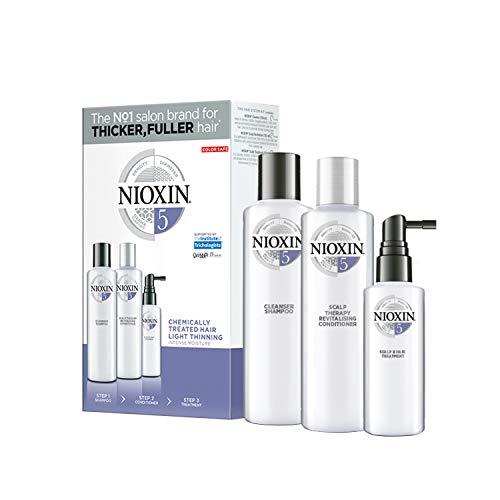 Nioxin Kit Trifasico Sistema 5 per Capelli...