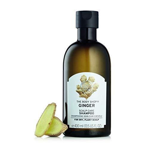 The Body Shop Ginger Scalp Care Shampoo, Transparent, 13.5 Fl Oz
