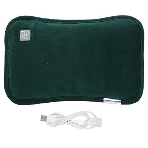 Scaldamani portatile, scaldamani elettrico, scaldamani portatile bifacciale ricaricabile USB Tappetino riscaldante elettrico impermeabile Scaldamani con presa USB Tasca tascabile(#1)