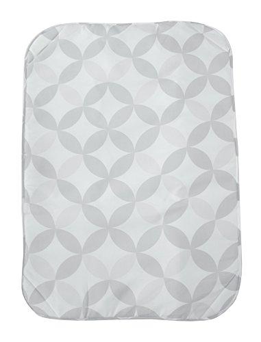 ZOLLNER Bügeldecke Baumwolle, 71x100 cm, Antirutschnoppen, Magnete