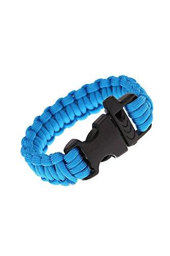 F Fityle Paracord Bracelet Bande de Survie Camping Randonn/ée