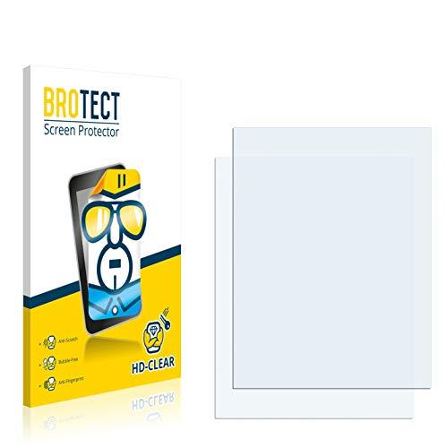 BROTECT Protector Pantalla Compatible con Clarion MAP370 Protector Transparente (2 Unidades) Anti-Huellas