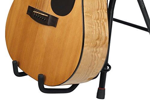 Gator Frameworks Guitar Seat with Padded Cushion, Ergonomic Backrest and Fold...