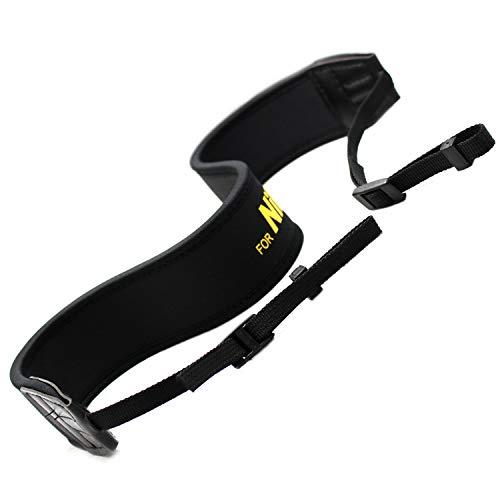 RAYSUN Neoprene Padded DSLR Camera Shoulder Strap for Nikon D7200 D5 D750 D3100 D5000 D3000 D90 D800