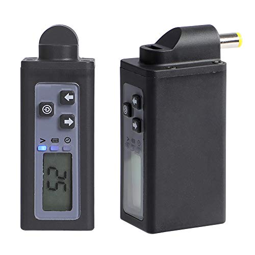 Wireless Tattoo Battery Tattoo Power Supply Rechargeable USB Digital Display 2000mAh Tattoo Machine Pen Dedicated Lithium Battery DC Connector P197-DC