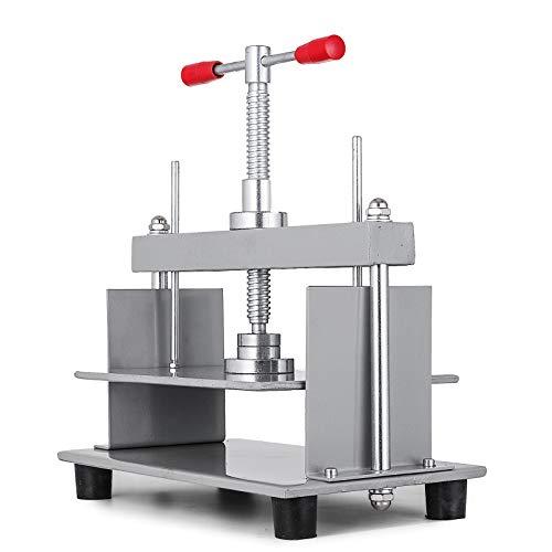 VEVOR A4 Buchbinderpresse Maschine Manual Bookbinding Press 30.5 x 22cm Paper Flattening Machine aus Stahl Flachdrücken Maschine Papierpresse
