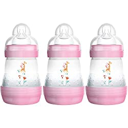 Anti-Colic - Thanks to its design MAM's distinct ventilated base reduces colic in 80 Percent* of babies, providing a smoother and more relaxed breastfeeding experience Self-Sterilising - No need for a separate bottle steriliser; 3 minutes in the micr...