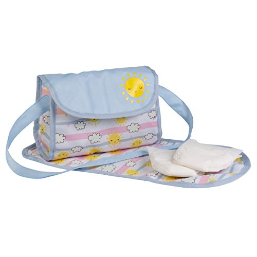 Adora Sunny Days Baby Doll Accessories Interactive, Color Changing & Water Activated Baby Doll Diaper Bag