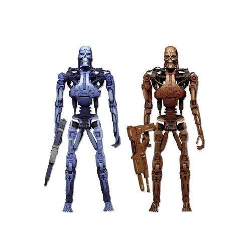 "NECA The Terminator RoboCop vs. The Terminator Series 1 Endoskeleton Assault Exclusive 7"" Action Figure 2-Pack by NECA Toys"