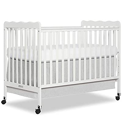 Dream On Me, Carson Classic 3-in-1 Convertible Crib in White, Greenguard Gold Certified from Dream on Me