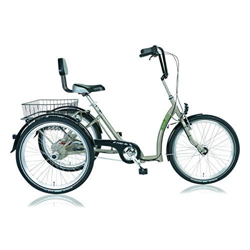 Descheemaeker 'Pavone I-Tec Triciclo Comfort MOD. 15, 24', Sabbia, 7velocità SRAM S7RBN, rahmenh