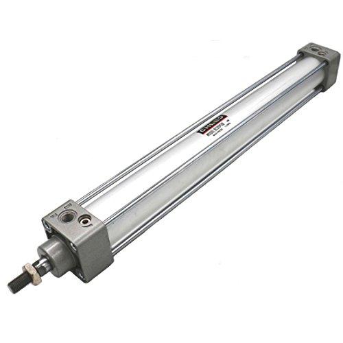 Heschen - Cilindro neumático estándar SC 32-400 puerto PT1/8, 32 mm de diámetro, barra única de doble acción de 400 mm