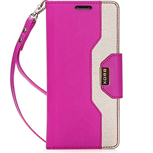 XORB Dual-Tone Flip Redmi Note 10 Pro Cover for Girls