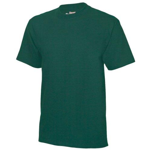 Hanes Herren T-Shirts USA Beefy-T Schlichte Ausführung, Crew