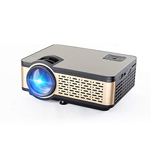 Buy Discount WXJHA HD LED Projector 4K 4000 Lumens HDMI USB Android WiFi Bluetooth 1080P Portable Ci...