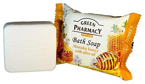 Green Pharmacy Savon au miel de Manuka et à l'huile d'olive, 100 g