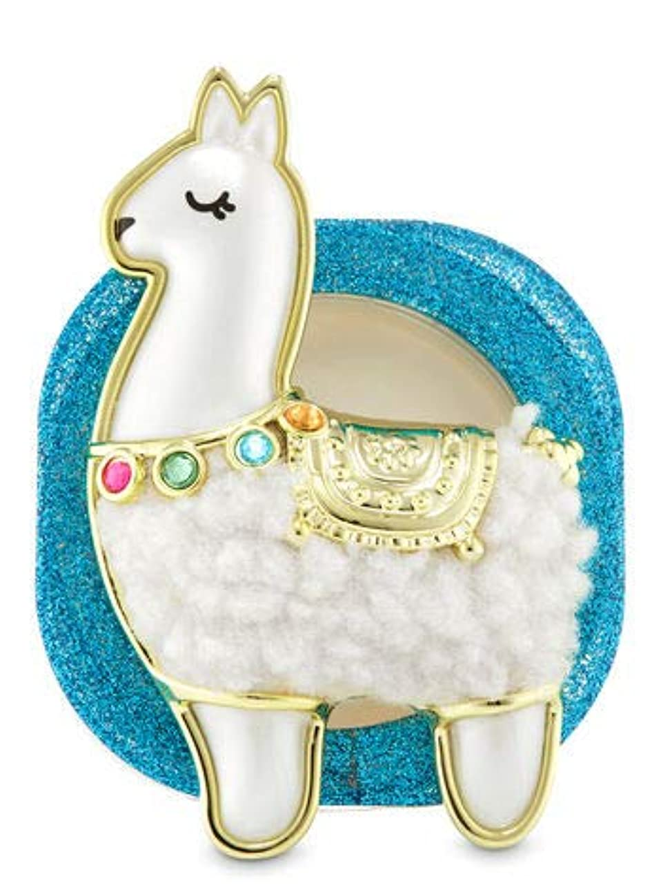 ペニーバーゲン嘆く【Bath&Body Works/バス&ボディワークス】 クリップ式芳香剤 セントポータブル ホルダー (本体ケースのみ) ラマ Scentportable Holder Llama [並行輸入品]