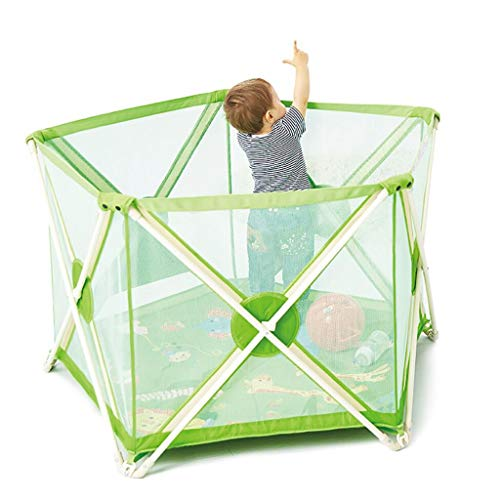 Lowest Prices! LXYFMS Family Folding Baby Fence Child Safety Fence Crawling Fence Child Protection F...