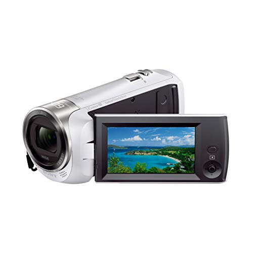 ソニー ビデオカメラ HDR-CX470 32GB 光学30倍 ホワイト Handycam HDR-CX470 W