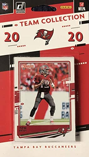 Tampa Bay Buccaneers 2020 Donruss Factory Sealed 12 Card Team Set with Tom Brady and Rob Gronkowski product image