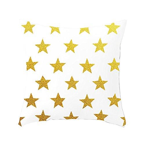 Steellwingsf Motif étoiles élégant doux Couvre-lit Taie d'oreiller Canapé-lit Housse de coussin Home Decor, Couleur 1#, Taille unique