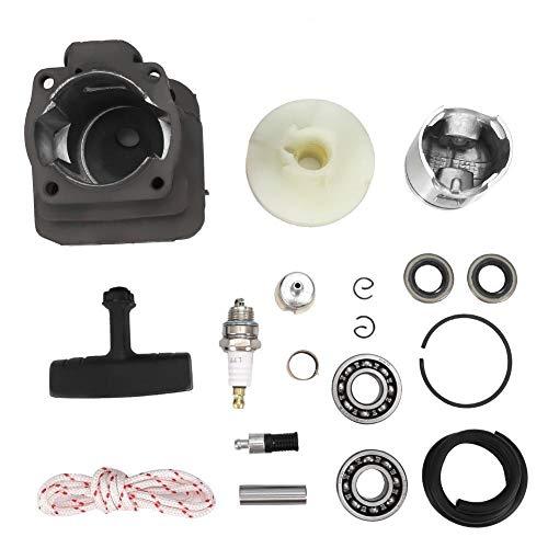 Zuiger Montagekit Set - Cilinder Zuiger Crank Lager Kit fit Husqvarna 50 51 55 Rancher kettingzaag 46MM