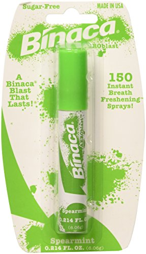 Binaca Spearmint Breath Freshening Spray - 0.2oz, 6 Pack