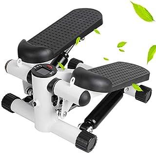 Juxori Mini Stepper Fitness Machine,Stair Stepper Portable Twist Stair Stepper Adjustable Fitness Exercise Machine with Di...