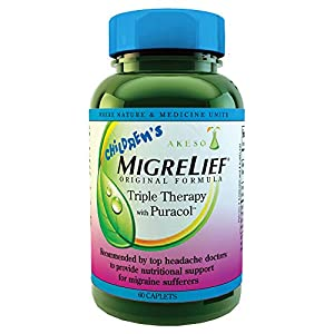 For kids with migraine. Parents often feel helpless when it comes to their children's migraines but now have an effective, nutritional option. Children's MigreLief is the only dual patented (3rd patent pending) nutritional supplement created just for...