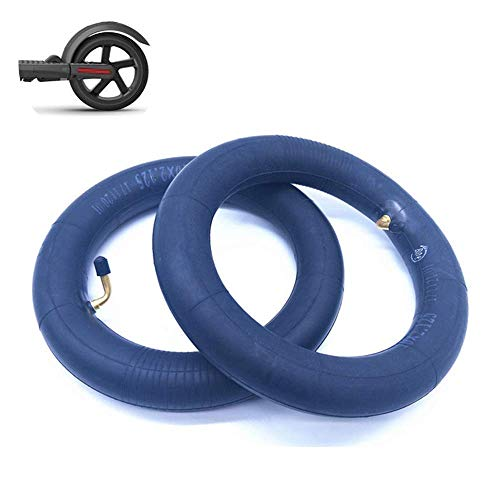 Electric Scooter Tire, 10x2.0-2.50 Butyl Rubber Inflatable Inner Tube, Thick and Durable, Suitable for 10 Inch Electric Scooter/Balance Car/Wheelchair, 2 Pcs,Electric Scooter Tire Accessories
