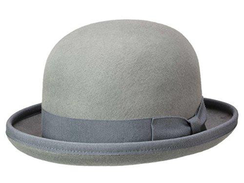 Guerra Homme Chapeau Melon Bowler gris