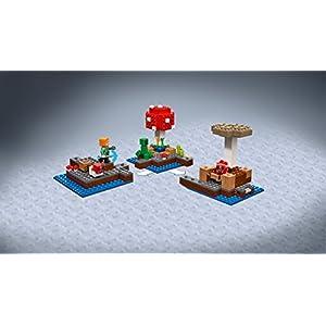 Amazon.co.jp - レゴ マインクラフト きのこの島 21129