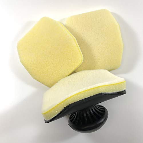 Discount Car Care Products Swivel Knob Tire Shine Applicator and (2) Extra Refill Pads
