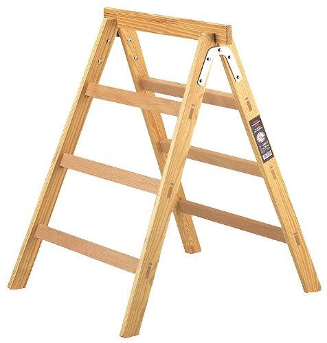 Brennenstuhl Holz-Arbeitsbock/Tapezierbock HAB 150 (Unterstellbock 0,95 m hoch, max. 150 kg belastbar)