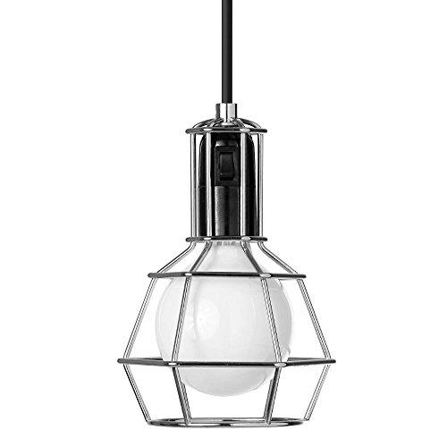 Design Stockholm House - Work Lamp - Suspension/lampe Baladeuse Silver - Lampe à poser