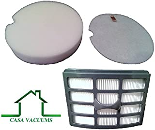 Casa Vacuums Replacement HEPA, Foam and Felt Filter Kit Fits Shark Lift-Around Portable LA400, NP317W, NP318, NP319 and NP320. Compare to XFF318 XHF319