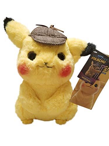 Next Stop Pokemo Detective Pikachu Plüschtier Soft Toy 11