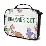 Dinosaurios Set Logo Maquillaje Bolsa Organizador Cosméticos Neceser Belleza Estuche Viaje Bolsa