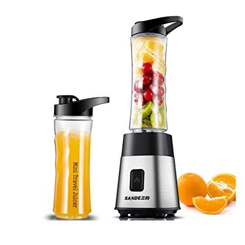 JCOCO Cuisson automatique des fruits, presse-agrumes multifonctions, machine à usages multiples, configuration à double coupelle, transport facile (Couleur : Silver)